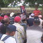 Movimiento de campesinos y campesinas de avanzada por la Patria // Foto cortesía Gofovisión tv