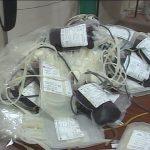 Donaciones de sangre // Foto cortesía del canal GolfoVisión