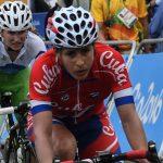 La ciclista cubana Arlenis Sierra (I), termina en el lugar 28 de la ruta femenina, correspondiente a los XXXI Juegos Olímpicos, que se desarrollan en Copacabana, Río de Janeiro, Brasil, el 7 de agosto de 2016. FOTO/Marcelino VÁZQUEZ HERNÁNDEZ/ogm