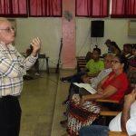 Comité de solidaridad de Manzanillo dedica jornada a Fidel y a las causas justas // Foto Eliexer Peláez
