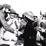 Fidel visita el Paralelo 17, al sur de Viet Nam. Foto: Archivo.