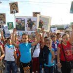 Fotoreportaje Desfile Martiano para homenajear al hombre de La edad de oro