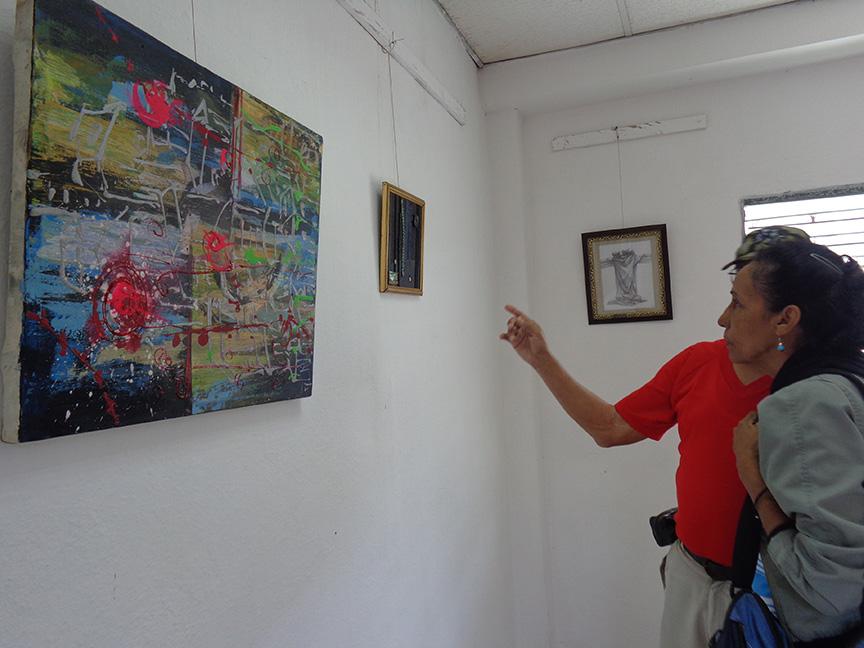 Abren exposición en homenaje a Celia Sánchez en Complejo Monumentario // Foto Marlene Herrera