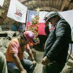Mineros chilenos llevan 29 días de huelga a 700m bajo tierra