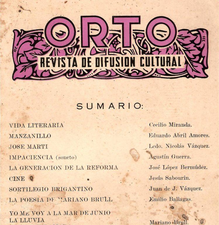Revista Orto