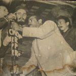 Primera visita de Fidel a Manzanillo // Foto Archivos RG