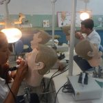 Estudiantes de la carrera de Estomatología de la Universidad Médica Celia Sánchez Manduley // Foto Lilian Salvat