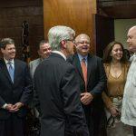 Gobernador de Misisipi en visita de trabajo en Cuba