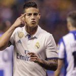 James anotó un doblete en un gran partido de los suplentes del Real Madrid. Foto: Reuters