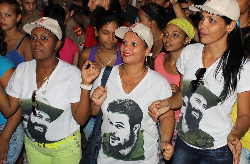 Acampada antimperialista // Foto Marlene Herrera