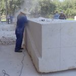 Esculpen obras de mármol como parte del Simposio Nacional de Escultura Ambiental Rita Longa