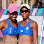 Duplas cubanas ganan primera fase del Circuito Norceca de Voleibol de Playa
