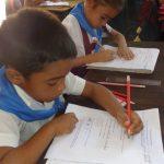 Celebran Festival de la Lectura, Escritura y Cálculo para niños de primer grado // Foto Marlene Herrera