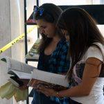 Buscando en la Feria del Libro. Foto: José Raúl Concepción/ Cubadebate/ Archivo
