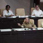 Raúl asiste a la sesión extraordinaria de la ANPP. Foto: Irene Pérez/ Cubadebate