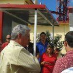 Díaz Canel dijo a la prensa que este es un centro moderno transmisor de señales de radio y televisión que forma parte del proceso de informatización impulsado en la nación caribeña. Foto: Prensa Latina.