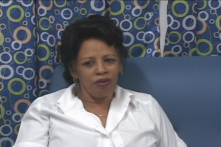 Georgina Tamayo González, coordinadora de servicios médicos internacionales en el Hospital Celia Sánchez // Foto Golfovisión TV