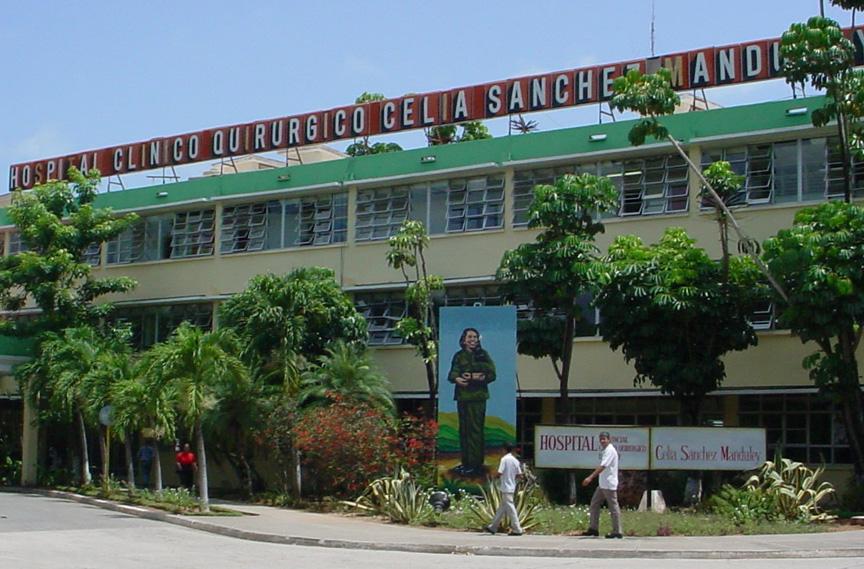 Hospital Clínico Quirúrgico Celia Sa´nchez, de Manzanillo // Foto Archivos RG