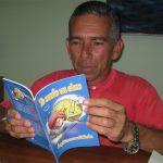 Ángel Larramendis, poeta y escritor manzanillero // Foto Marlene Herrera (Archivo)