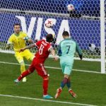 En el minuto 8′, Cristiano Ronaldo anotó el único gol del partido Portugal-Rusia de la Copa Confederaciones. Foto: Reuters.
