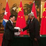 Presidentes del Parlamento de Cuba y China patentizaron los lazos de cooperación entre ambas naciones. Foto: Archivo.