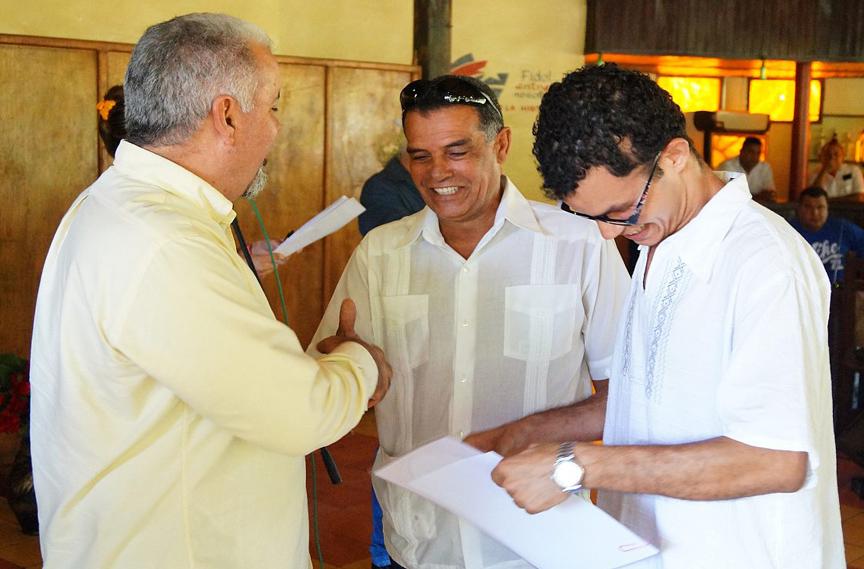 Roberto Mesa Matos, Premio a la Mejor Realización Periodística // Foto Armando Yero La O