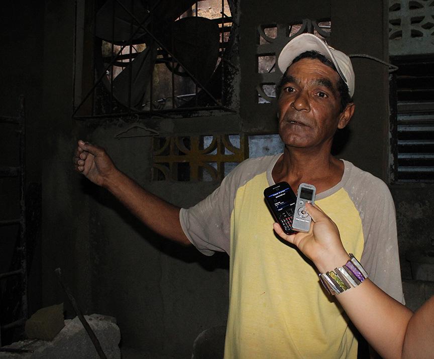 Rafael Tamayo Barrera, ejecutor de la obra // Foto Marlene Herrera