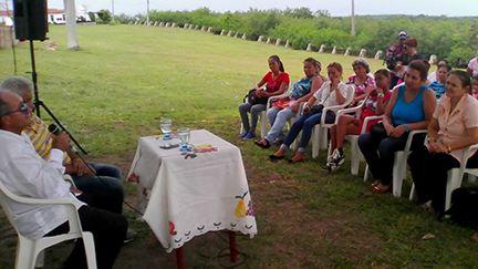 Coloquio sobre Vilma Espín en La Demajagua // Foto Yurisdel Reyez