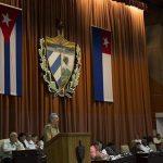Raúl interviene en la Asamblea Nacional. Foto: Irene Pérez/ Cubadebate.