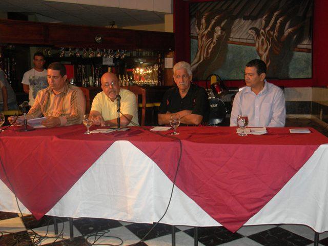 Conferencia de prensa por aniversario 225 de la ciudad // Foto Lilian Salvat