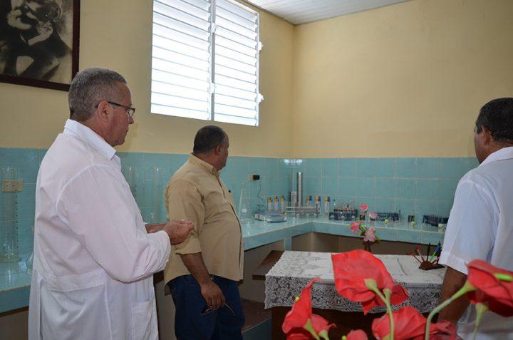 Laboratorio de Entomología // Foto Marlene Herrera