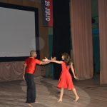 Instructores de arte presentan coreografía con el tema Yo pisaré las calles nuevamente // Foto Marlene Herrera