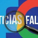 De acuerdo con la asociación, la relación entre Google y Facebook ha propiciado la divulgación masiva de noticias falsas. Foto tomada de inmediaciones.org.