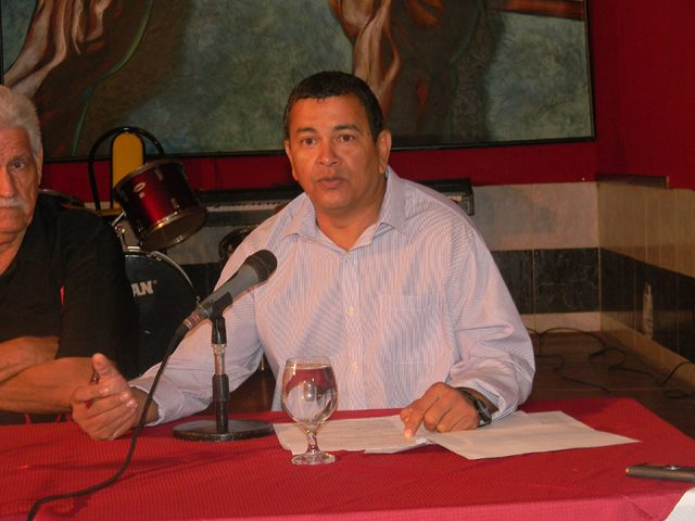 José Enrique Remón Domínguez, presidente del Gobierno en Manzanillo // Foto Lilian Salvat