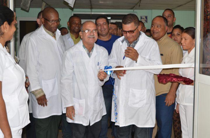 Sala de Urología y proctología del Hospital Clínico Quirúrgico Celia Sánchez // Foto Marlene Herrera