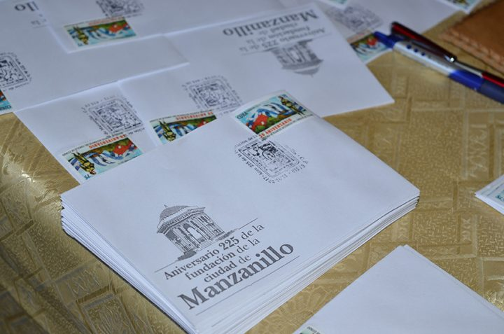 Cancelación del sello por el 225 aniversario de la ciudad // Foto Marlene Herrera