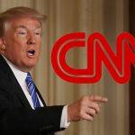 El presidente de Estados Unidos Donald Trump difundió un videomontaje ne el que golpea un hombre con el logo de la CNN. Foto tomada de thewrap.com