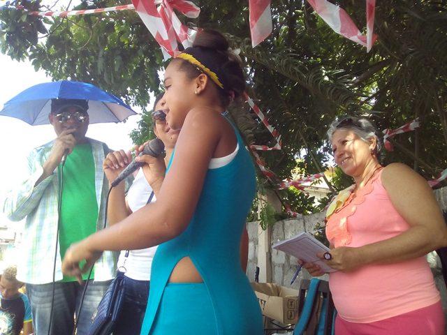 Ecos del Carnaval con la conducción de Nilda y Rocles, y la dirección de Idalmis Solá // Foto Eliexer Pelaéz