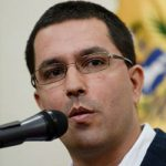 Jorge Arreaza, canciller de Venezuela. Foto: Archivo