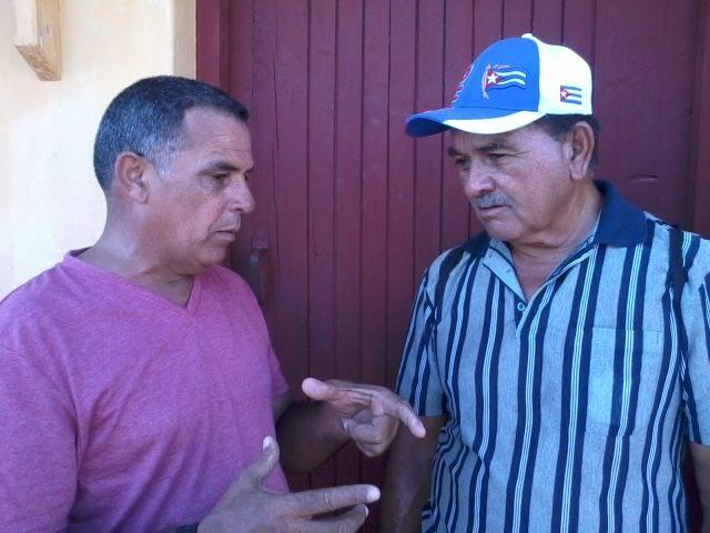 Mario Escalona Delgado y Víctor Diaz // Foto Lilian Salvat