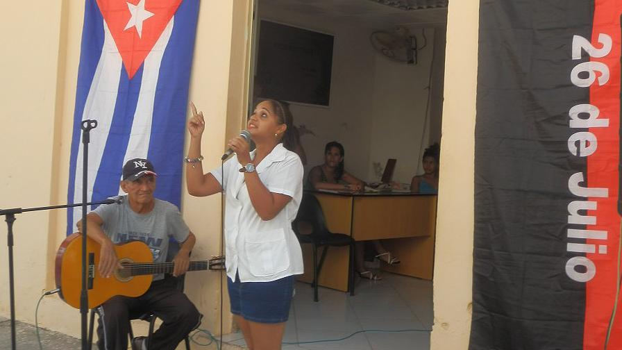 Matutinos especiales en el inicio de actividades por conmemoración del natalicio de Fidel // Foto Lilian Salvat
