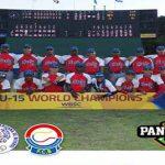 Cuba en el III Campeonato Panamericano de Béisbol de la categoría Sub-15. Foto: Prensa Latina.