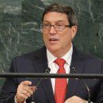 El canciller Bruno Rodríguez afirmó hoy en la Asamblea General de la ONU que cualquier intento de destruir a la Revolución cubana fracasará, en respuesta a la decisión del presidente estadounidense, Donald Trump, de recrudecer el bloqueo contra la isla. Foto: REUTERS