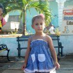 Liz Sofía, una de las niñas que comienza este curso en el Programa Educa a tu hijo // Foto Lilian Salvat