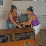 Trabajan en Manzanillo para restablecer en curso escolar luego del paso de Irma // Foto Lilian Salvat