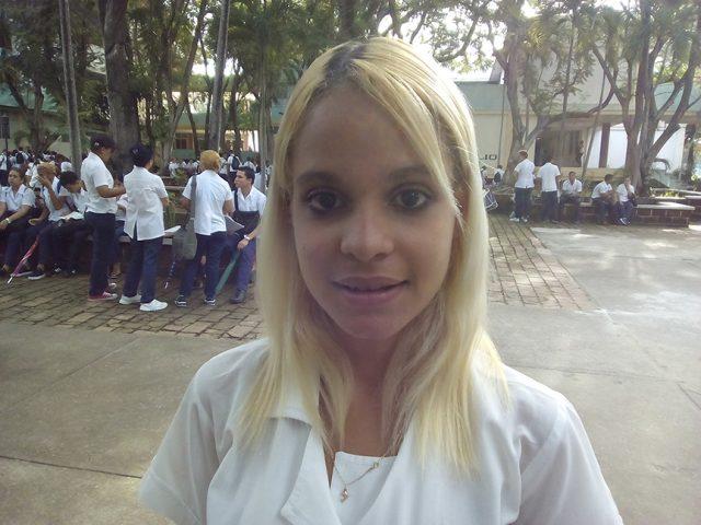 Lianny de los Ángeles Vargas Pérez // Foto Eliexer Peláez