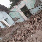 Una de las escenas que dejó el terremoto. Foto: Archivo.