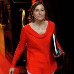 """La presidenta del Parlamento catalán, Carme Forcadell, anunció que el Parlament """"ha sido disuelto"""". Foto: EFE."""
