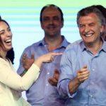 Macri en su celebración. Foto: Reuters.