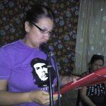 Caridad Molina Rondón, secretaria de la Federación de Mujeres Cubanas (FMC) // Foto Eliexer Peláez